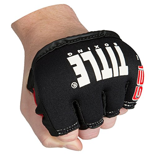 Title Gel Iron Fist Slip-On Knuckle Shields, Regular (Best Knuckle Guards For Boxing)