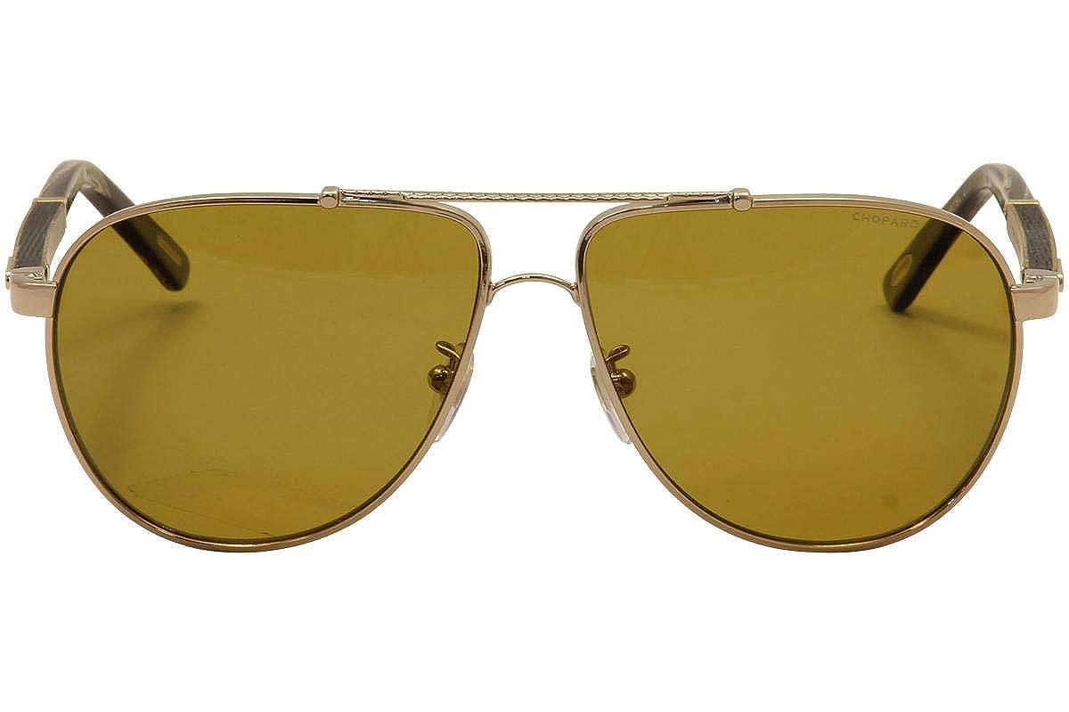 Amazon.com: anteojos de sol CHOPARD SCHB 78 Rojo Gunmetal ...