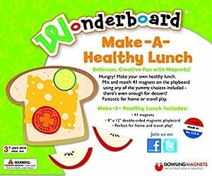 Dowling magnets wonderboard make a healthy lunch by - Dowling iluminacion ...