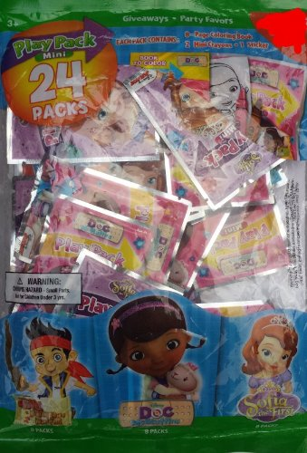 Party Favor Play Pack -Disney Junior - 24 Mini Packs]()
