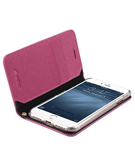 Melkco Fashion Cocktail Serie Slim Flip Case für Apple iPhone 7 (4.7 ') (Pfirsich) _LF2231