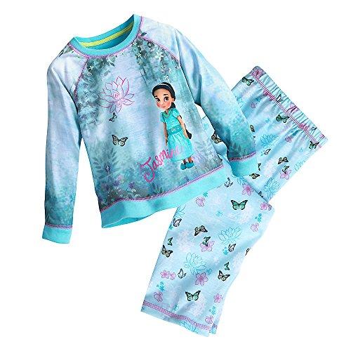 Disney Animators' Collection PJ Gift Set For Kids - Jasmine Size 7/8