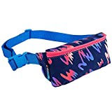 Mokuyobi Unisex Printed Cotton Adjustable Fanny Pack (Hot Cut, One Size)