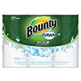 Bounty PGC92379CT Paper Towels with Dawn, 2-Ply, 11'' x 14'', 49 Per Roll, 3 Pack