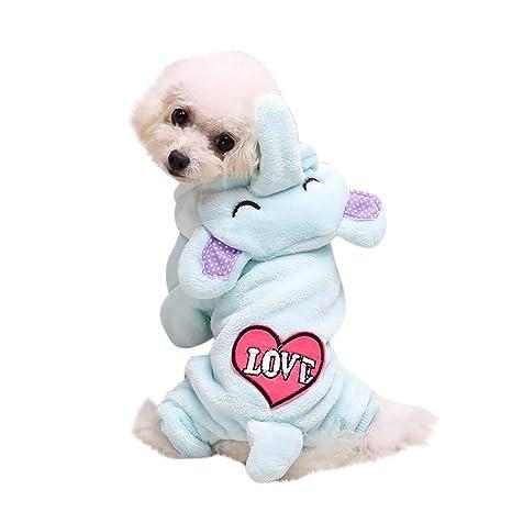 Ropa Perro Pequeño Invierno Franela Sudadera con Capucha Modelado Animal Abrigo Jersey para Mascota Chihuahua Yorkshire
