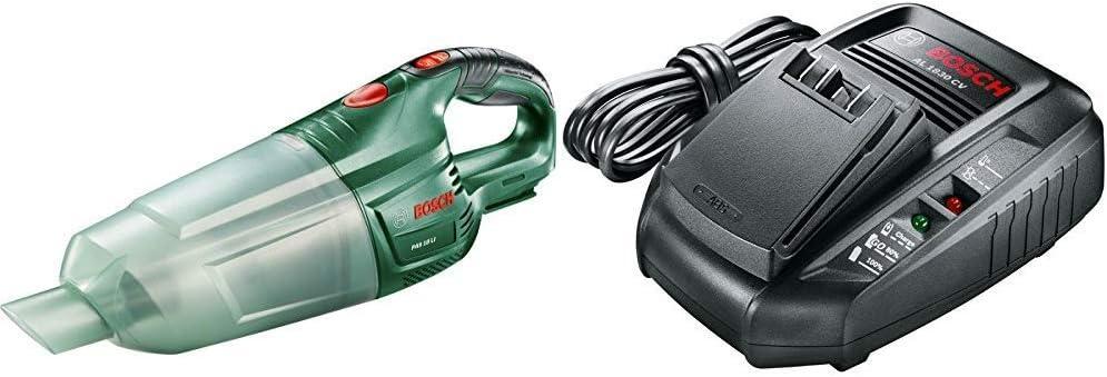 Bosch 0.603.3B9.001 Aspirador 18 W, 18 V, Negro, Verde + Bosch AL ...