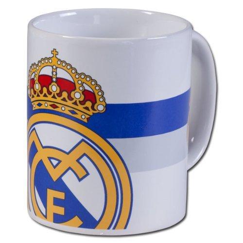 Offizielle REAL MADRID große Wappen weißen Keramik-Tasse