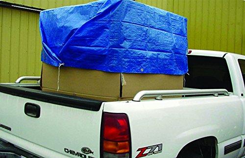 5 x 7 5/' x 7/' Erickson 56999 Blue Economy Poly Tarp