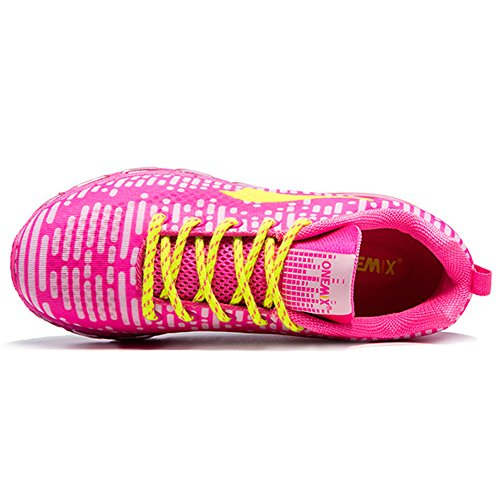 OneMix Mens Womens Sports Trainers Gym Walking Air Running Shoes Pink UO9pB