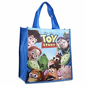 Amazon.com: Toy Story bolsa de compras – Buzz Lightyear y ...