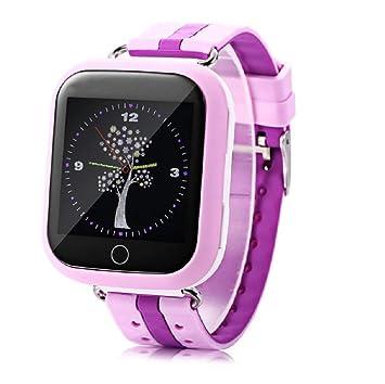 GPS Reloj Inteligente para niños WiFi 1.54 Pulgadas de Pantalla táctil SOS posicionamiento Rastreador Reloj Reloj