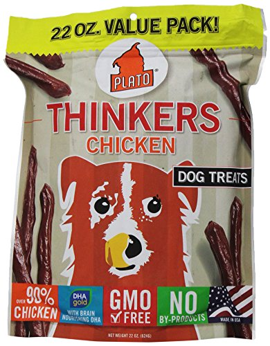Plato Pet Treats Natural Chicken