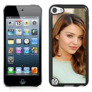 Unique Designed Cover Case For iPod 5 Touch With Miranda Kerr Girl Mobile Wallpaper Phone Case