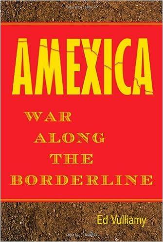 Amazon.com: Amexica: War Along the Borderline (9780374104412 ...