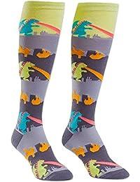 Rampage, Women's Knee-High Socks, Funky Monster Socks