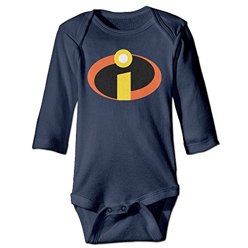 [PTCY Logo Of Super Secret For 6-24 Months Baby Romper Bodysuit 6 M Navy] (Miley Cyrus Disney Costume)