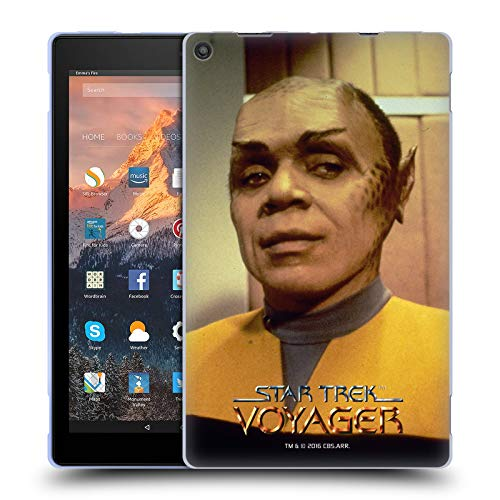 Official Star Trek Operations Uniform Tuvix VOY Soft Gel Case for Amazon Fire HD 10 (2017) ()