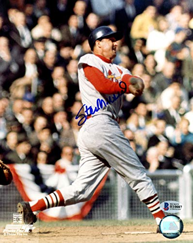 - Stan Musial Autographed Signed Memorabilia 8x10 Photo St. Louis Cardinals - Beckett Authentic