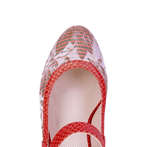 Shoo Women's Cancun Coral Bag amp; Matching Shoes Cassandra Ruby Bar dfnHdA