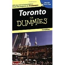 Toronto For Dummies