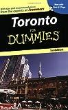Toronto for Dummies, Michael B. Kelly, 047083398X
