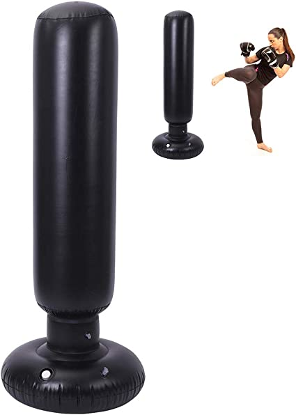 Adults//kids Boxing Free Standing Punch Bag Stand Martial Arts Boxing Training