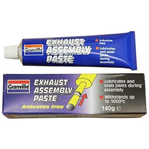 GRANVILLE EXHAUST ASSEMBLY PASTE 140g PROVIDES GAS TIGHT SEAL LUBRICATES: