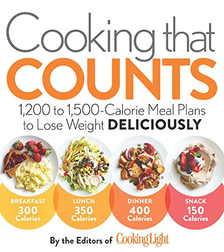Price comparison product image Cooking that Counts: 1, 200 to 1, 500-Calorie Meal Plans to Lose Weight Deliciously