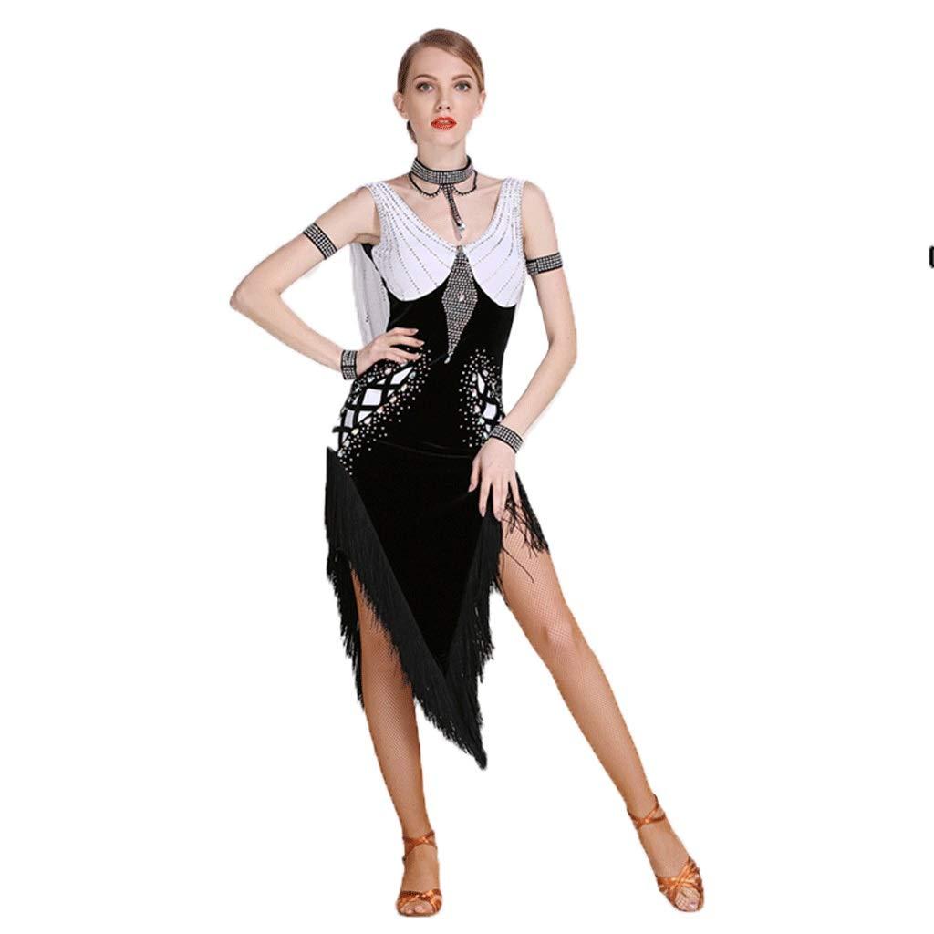 素晴らしい価格 アダルトプロフェッショナルラテンダンスショースカートフリンジバックレスボールルームパフォーマンスダンスルンバサンバ変則的なスカートのドレス ブラック B07QB7KXPF L l|ブラック l|ブラック l ブラック L l, 野川やまがた屋オンライン:16f795fc --- a0267596.xsph.ru
