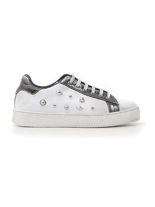 PITTARELLO 103 Sneakers Donna BiancoNero Taglia 39
