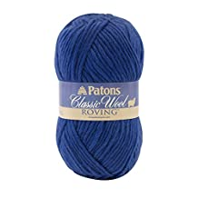 Spinrite Patons Classic Wool Roving Yarn, Royal