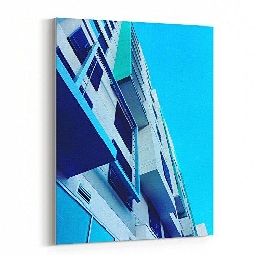 Cheap  Westlake Art Building Blue - 16x20 Canvas Print Wall Art - Canvas..