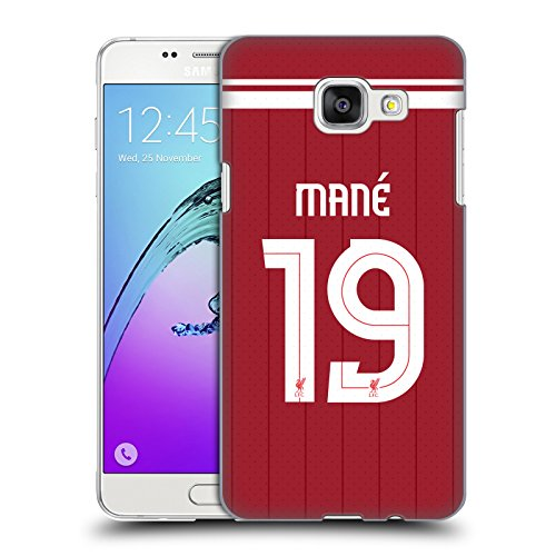 Official Liverpool Football Club Sadio Mané Players Home Kit 17/18 Group 1 Hard Back Case for Samsung Galaxy A5 (2016)