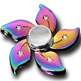 Eternity-Spinners Original Rainbow Fidget Spinner | Stress Relief | Metal High Speed Multi-Colour Toy