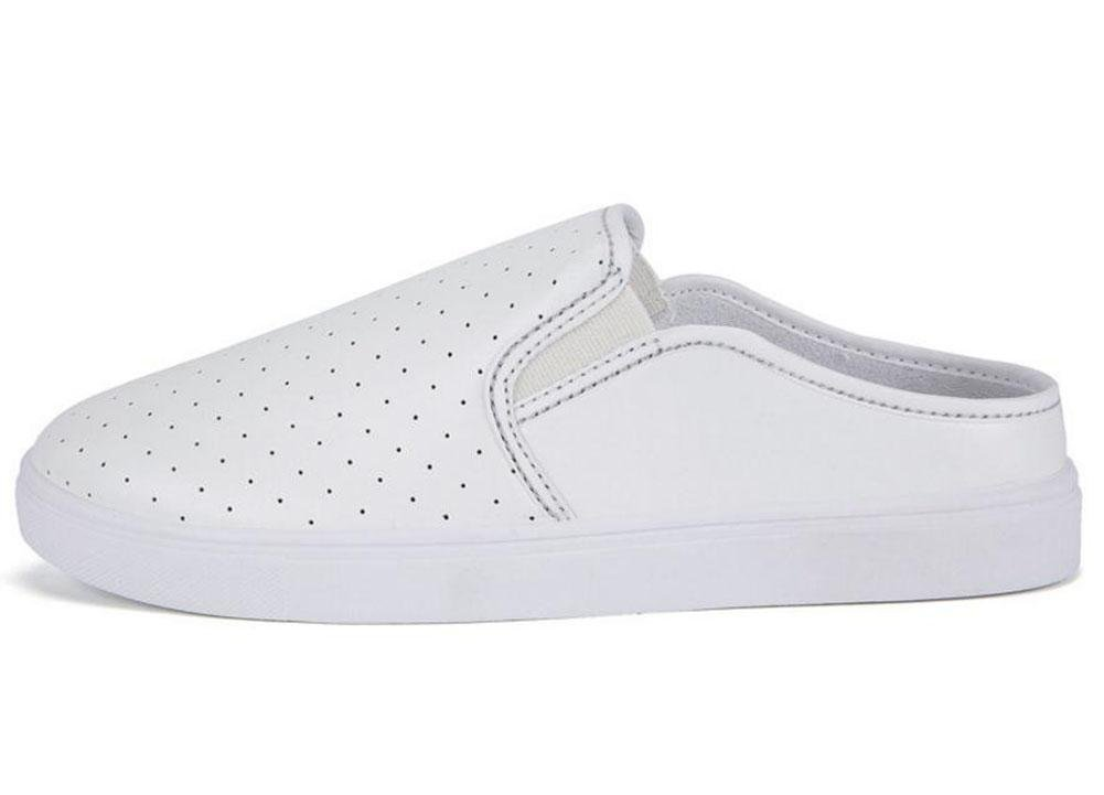 GLTER Mocasines Zapatos Verano Nuevos Hombres Breathable Zapatos De Cuero Zapatos Casual Mules