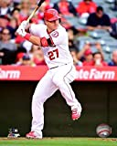 "Mike Trout Los Angeles Angels 2016 MLB Action Photo (Size: 8"" x 10"")"