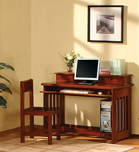 American Furniture Classics 2867DH Desk with Hutch by American Furniture Classics (Image #4)