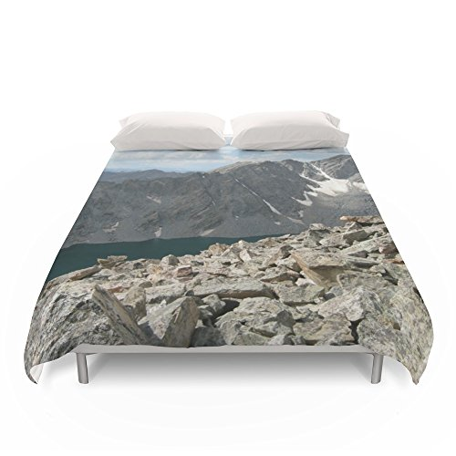 Society6 Holy Cross Mountain Duvet Covers King: 104'' x 88'' by Society6