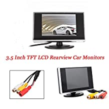 3.5 Inch Small TFT LCD display Adjustable Monitor For Security CCTV Camera and car DVR car Parking screen