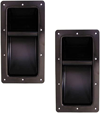 Large Pack//Set Recessed Metal//Steel Handle For Speaker Cabinet 2