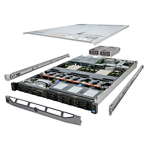 TechMikeNY Server 2X 2.00Ghz E5-2620 6C 32GB 8X 300GB 15K SAS Economy PowerEdge R620 (Renewed)