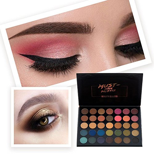 Capable Beauty Glazed Matte Shimmer 9 Colors Eyeshadow Palette Glitter Glow Kit Waterproof Eyes Cosmetics Back To Search Resultsbeauty & Health Beauty Essentials