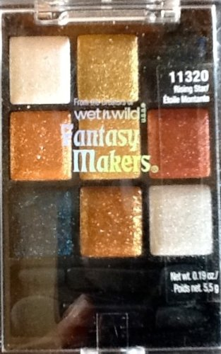 Wet N Wild Fantasy Makers Show Stopper -Glitter Palettes Swatches 11319