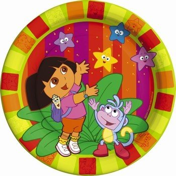 Dora the Explorer 'Star Catcher' Small Paper Plates (8ct) -