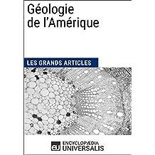 Géologie de l'Amérique (French Edition)