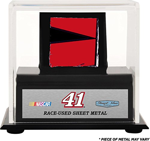 kurt-busch-display-case-with-race-used-sheet-metal-fanatics-authentic-certified-nascar-unsigned-race