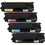 Brother TN336 Toner Cartridge - Black/Cyan/Magenta/Yellow (Pack of 4)