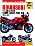 H2053 Kawasaki EX250 Ninja 454LTD Vulcan 500 1985-2007 Haynes Motorcycle Repair Manual