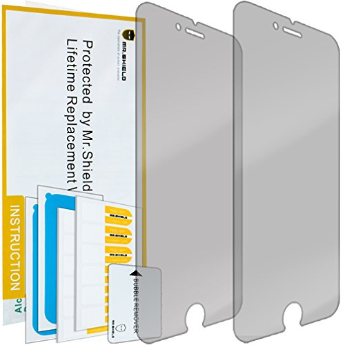 Mr Shield For IPhone 7 Plus Privacy [Anti Spy] Screen Protector [2-PACK]...