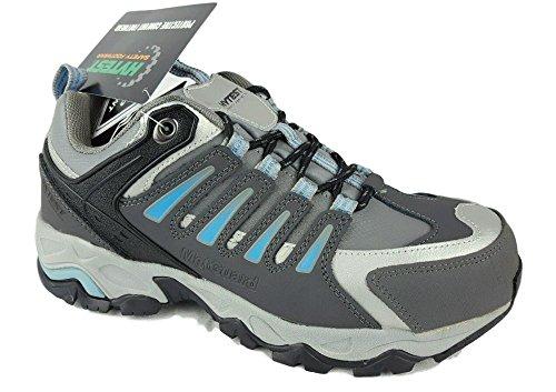 Wolverine Hytest K17116 Multi Sport Electrical Hazard,Non-Slip Steel-Toe Athletic Safety Work Shoe (10 C/D US, Blue) by Wolverine (Image #1)